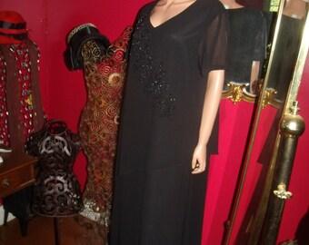 G.Gatsby  Black Flapper Dress   Size 20