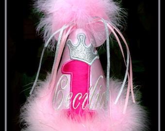 Valentine Birthday Hat, Valentine 1st Birthday, Valentine First Birthday, Valentine Baby Hat,  Girl Valentine Hat, GINGHAM BUNNY