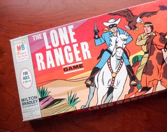 The Lone Ranger - Vintage board game - 1966 - complete - very good condition