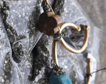 Crushed Pyrite Hammered Fools Gold Gemstone