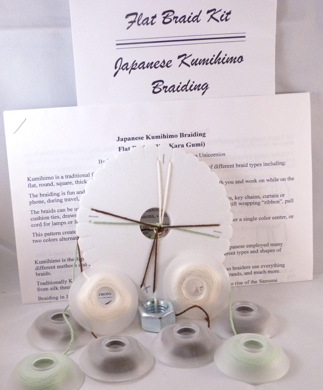 kumihimo braiding disk instructions