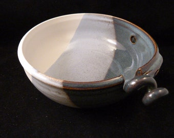 WheelWorksPottery - Yarn Bowl - Dual Function - Winter Coat