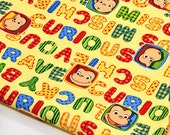 Curious George 19.6 inch by 42 inch or 50 cm by 106 cm Half meter