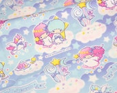Twin Little Stars Kiki Lala print 50 cm by 53  cm or 19.6 by 21 inches