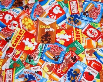 Disney Cartoon Mickey Mouse Print Japanese fabric Half meter