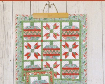 PATTERN DECEMBER CHRISTMAS Ornaments and
