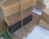 Free Shipping 2 bars Handmade Soap Variety Pack of your choice 4 ounces each
