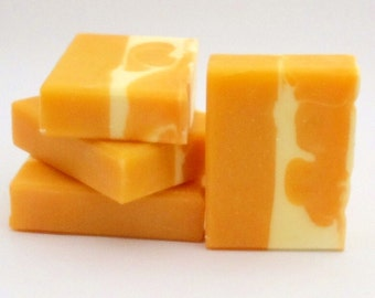 Juicy Mango Sorbet Vegan Homemade Soap Olive Oil & Shea Butter