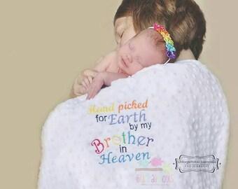 Rainbow Baby tribute blanket Blankets