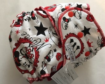 SALE Minnie Mouse ~ Size 2 ~ Serged ~ Red CV