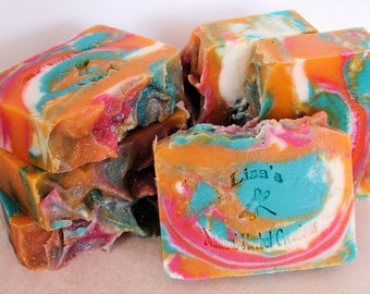 Hippie Punch handcrafted artisan soap Limited Edition