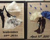Personalized 3D Floral Wall Art for Wedding, Anniversary, or Home