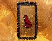 Alaskan Red Fox Ornament