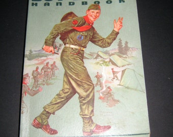 Vintage (1959) Handbook for Boys - Boy Scout Handbook