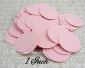 Wedding confetti, Pink wedding, Party ideas, 1 inch paper circles, Baby shower decorations, Table decor