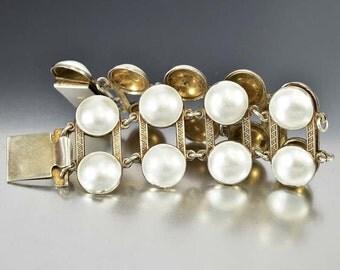 Aksel Holmsen Bracelet, Sterling Silver Enamel Bracelet, Wide Bracelet, Vintage Norwegian Jewelry, Norwegian Bracelet, Guilloche Enamel