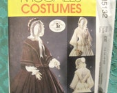 McCall's Costumes Pattern M5132 Size EE 14 16 18 20 Uncut Civil War Costume