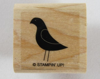 Stampin Up! - Solid Bird Rubber Stamp #RS127