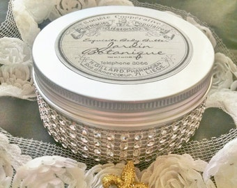 Healthy Botanical  Body Butter-in a gorgeous tin!   Paraben, Gluten and SLS Free Generous 5.5  Ounce Tin  Feed Your Body & Soul