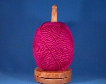 Select Big Leaf Maple Yarn/Thread Holder - Natural Wax Finish