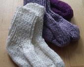 Newborn knit Sock, Baby sock,  Cotton socks, handknit baby sock, Baby gift,  Welcome Baby, Baby sock Canada, Baby Knit Montreal