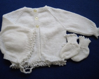 Baby Girl Sweater Set 3 Months