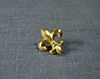 Fleur De Lis Lapel Pin Brooch