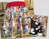 vintage disney spandex fabric running skirt with shorts princess mickey minnie swim suit coverup comic con costume skating