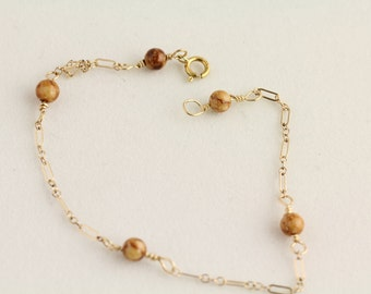 Jasper bracelet. Listing 280656312