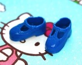 Blythe Royal Blue T-Strap Mary Jane shoes