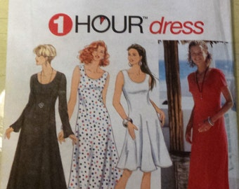 Simplicity Misses Dress  Pattern 9103 Size 6, 8, 10, 12 Uncut