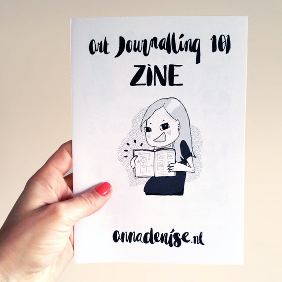 Art Journalling 101 Zine