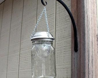 Sale Hanging Solar Light | Ball Mason Jar Solar Light | Solar Lantern | Mason Jar Lantern | Solar Garden Light | Wedding Light Decoration