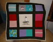 Tshirt quilt with Mother's Clothing