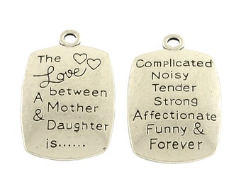Mother/Daughter Charm - 4 piece - #MP204