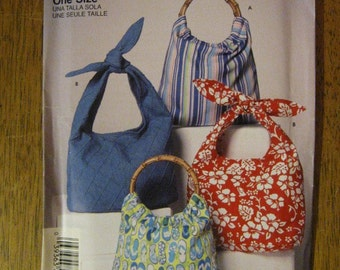 Simplicity Hobo Purse Pattern - Easy - # 5151