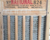 1940s Vintage Washboard - The Silver King washboard - National Washboard Co - functioning washboard - vintage home decor - retro home