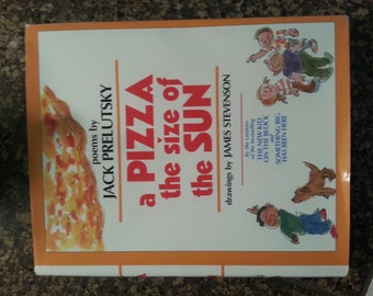 a PIZZA the size of the SUN book