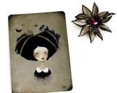 30% Off Halloween Sale - As she carries.. - Postcard