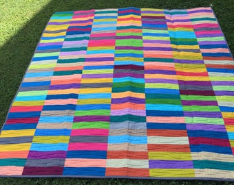 Stripes Lap Quilt