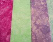 Organic Cotton Fabric Bundle, Organic Quilt Fabric, Organic Material, Organic Craft Fabric, Uxmal