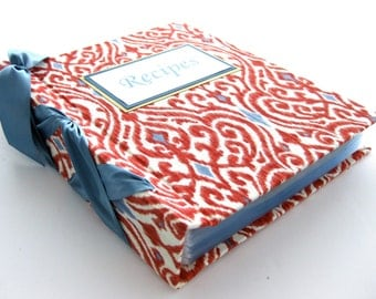Recipe Book-choose your own ribbon color