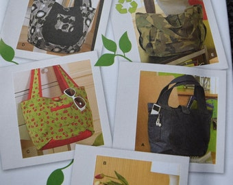 Simplicity 2597 Go Green Bags One Size (uncut)