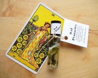 9 of Pentacles Anointing Oil