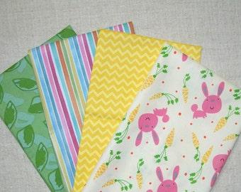 COUPON Code Sale - FAT QUARTER Bundle - Spring, Easter Fabrics, 100% Cotton Quilt Fabric, Quilting Fabric, Fat Qtr (#100)