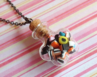 Sweet Treats Bottle Necklace
