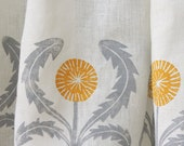 custom dandelion cafe curtains