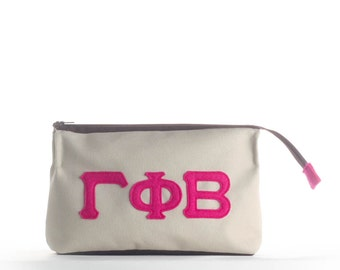 Gamma Phi Beta Makeup Case