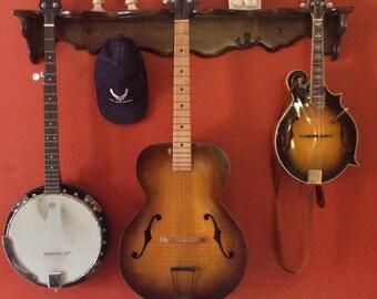Guitar/Uke/Mando Hanger Shelf