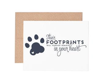 Pet Sympathy Letterpress Greeting Card